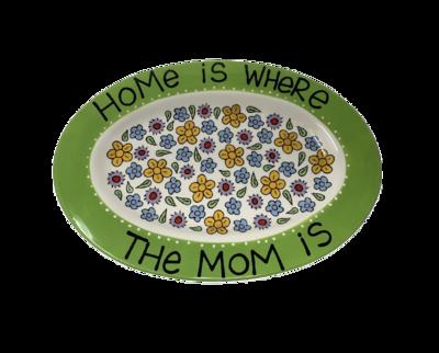 Pieza Decorativa (plato) Mamá