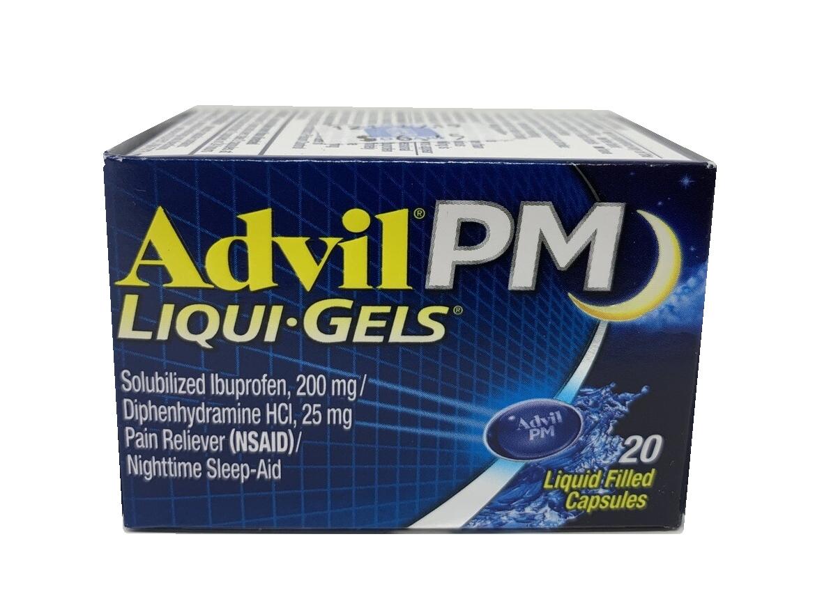 Advil PM Liqui-Gels Capsulas