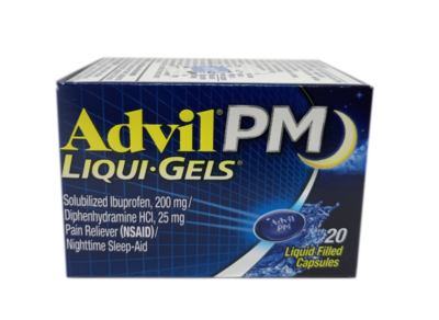 Advil PM Liqui-Gels Capsulas