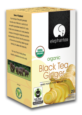 Black Tea Ginger - con Jengibre