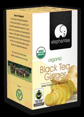 Black Tea Ginger - con Jengibre