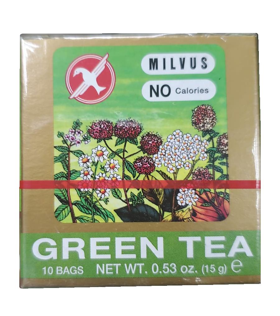 Te Milvus Green Tea - Te Verde