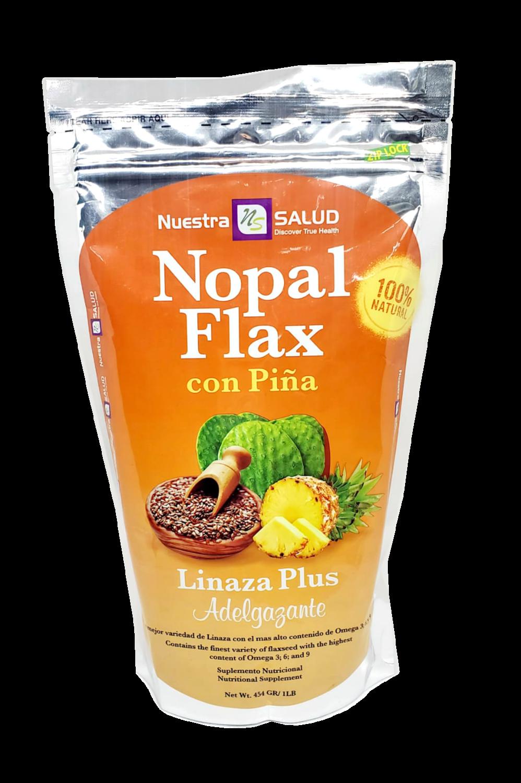 Linaza Nopal Flax con Piña