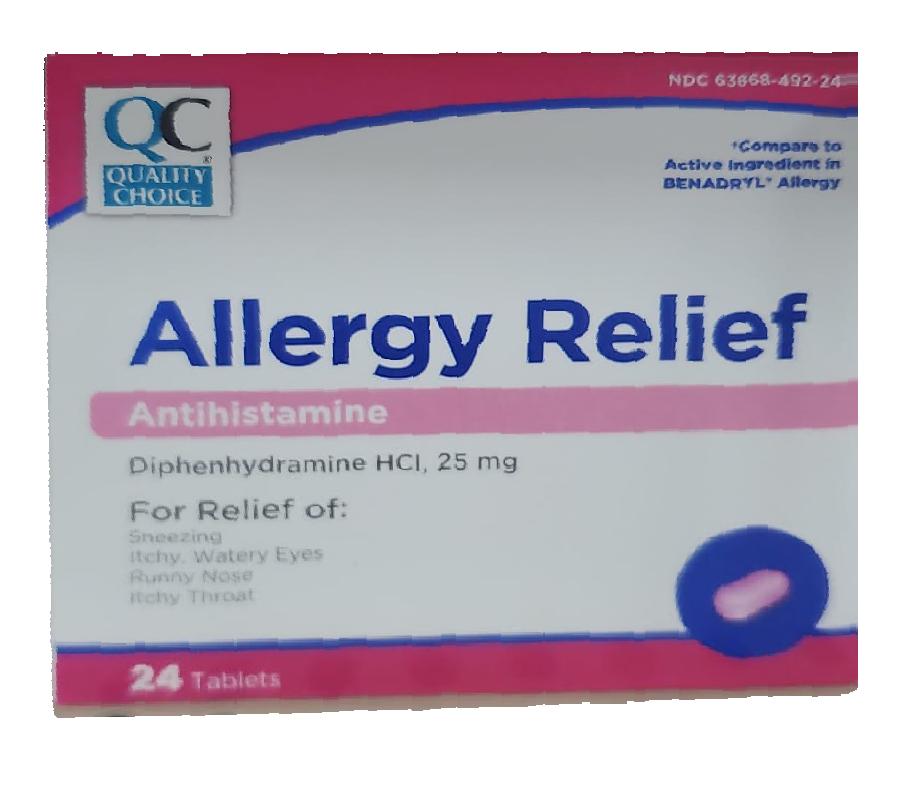 Allergy Relief - Antiestamínico