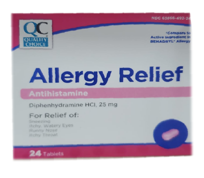 Allergy Relief - Antiestamínico
