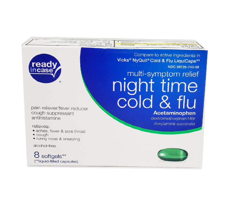 Night Time Cold & Flu - Multi Symptom