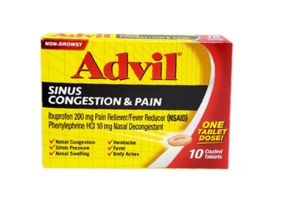 Advil Sinus Congestion & Pain
