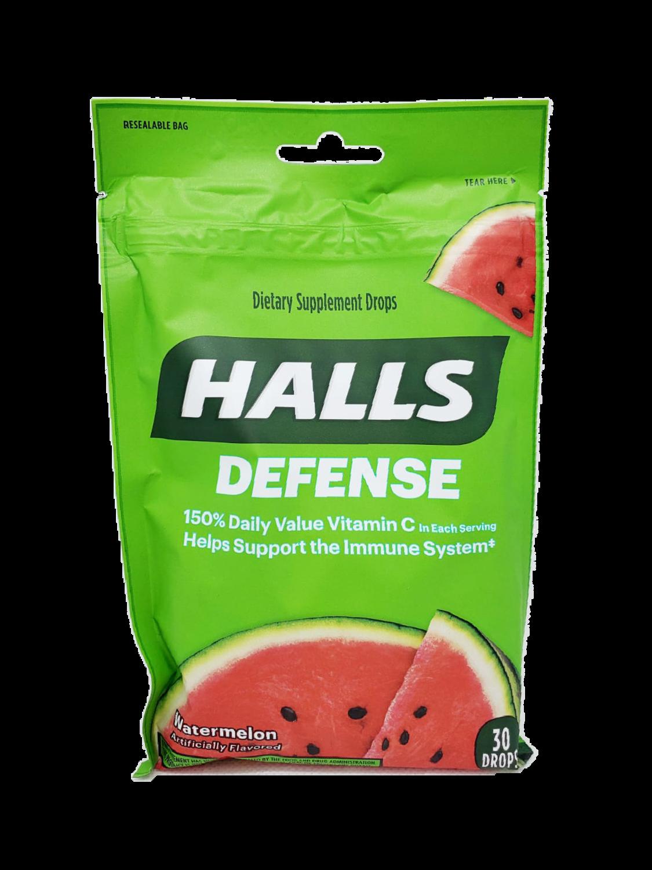 Pastillas para la Tos Halls Defense