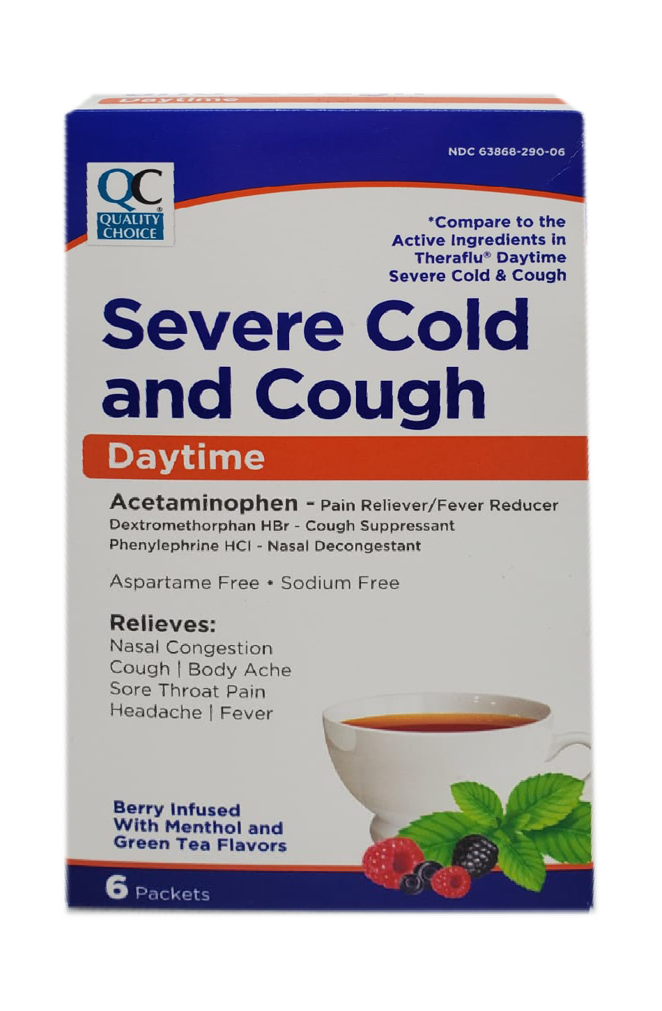Severe Cold and Cough Daytime