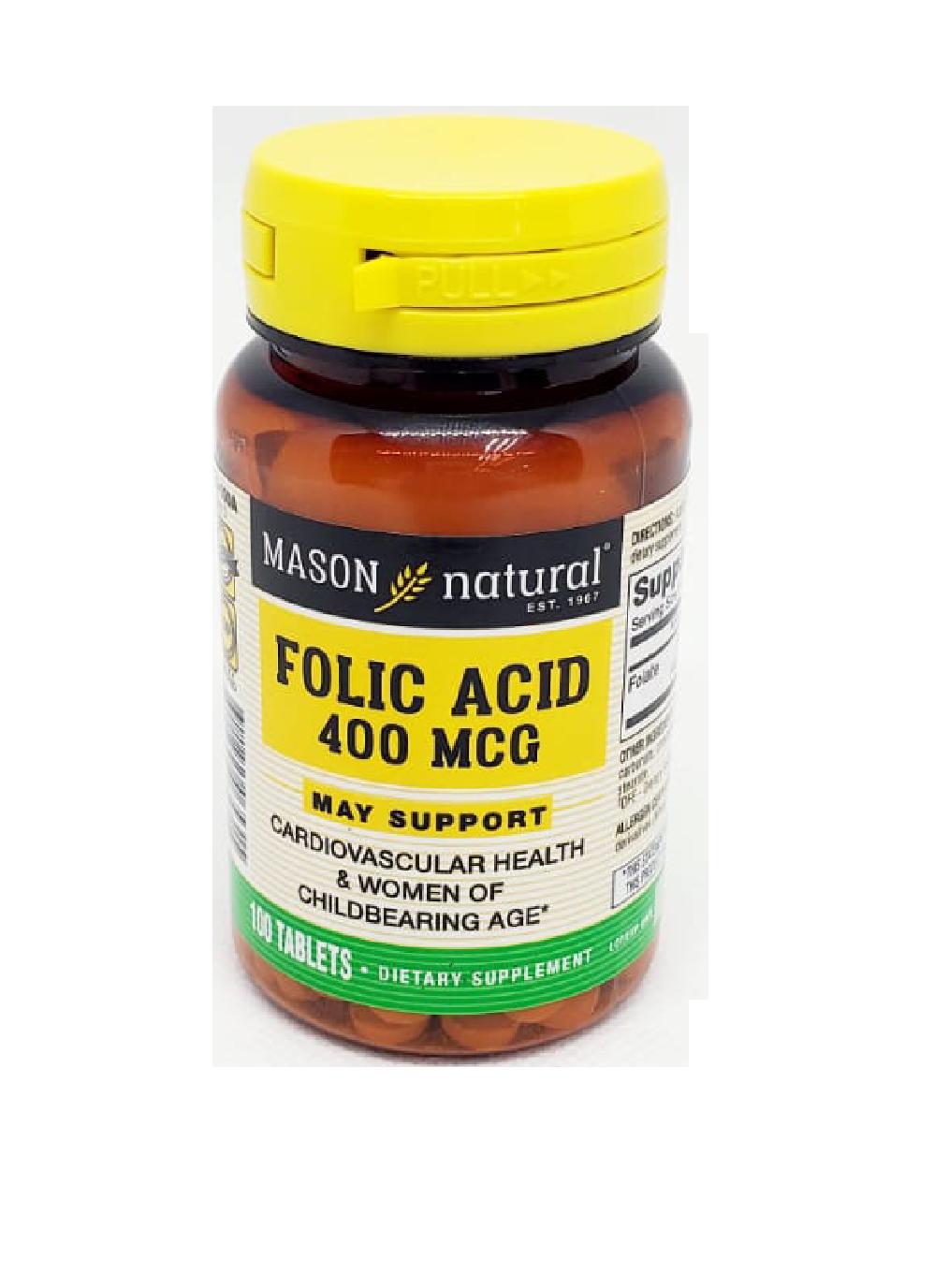 Suplemento Acido Fólico 400