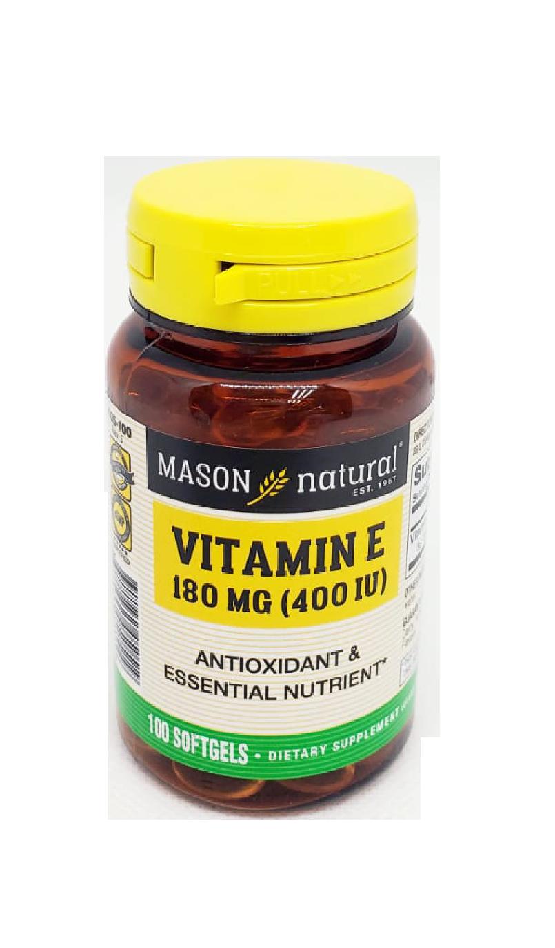 Suplemento Vitamina E 180 MG