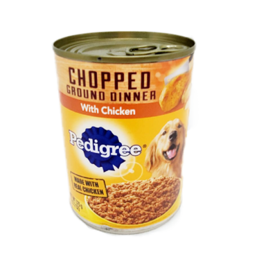 Choppped Ground Dinner Pedigree