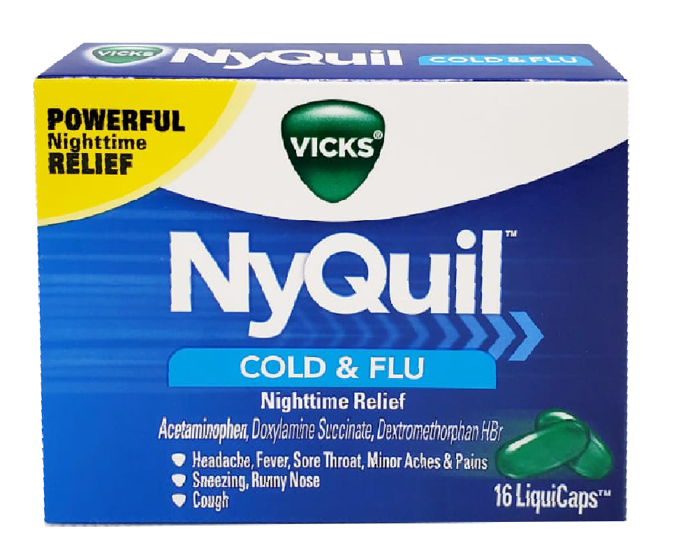 NyQuil Cold & FLu Nighttime Relief