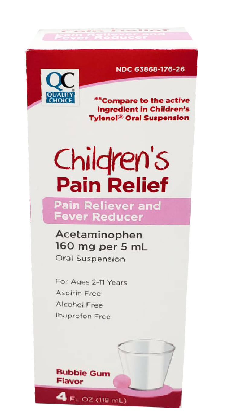 QC Children's Pain Relief