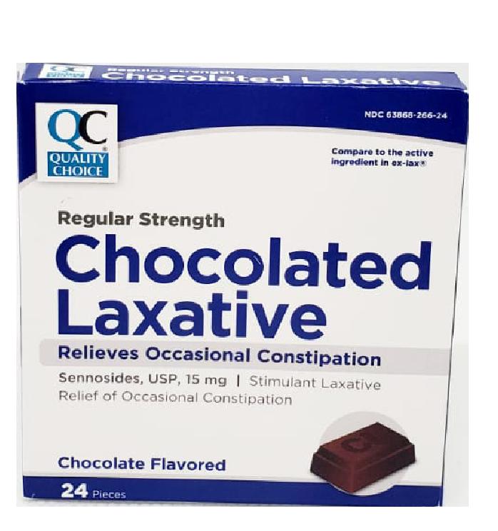 QC Chocolated Laxative