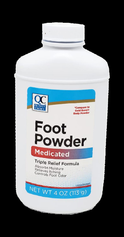 QC Foot Powder