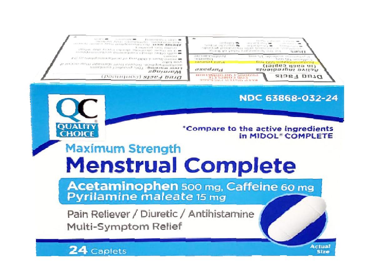 QC Menstrual Complete