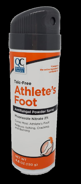 QC Ahtlete's Foot Powdered Spray