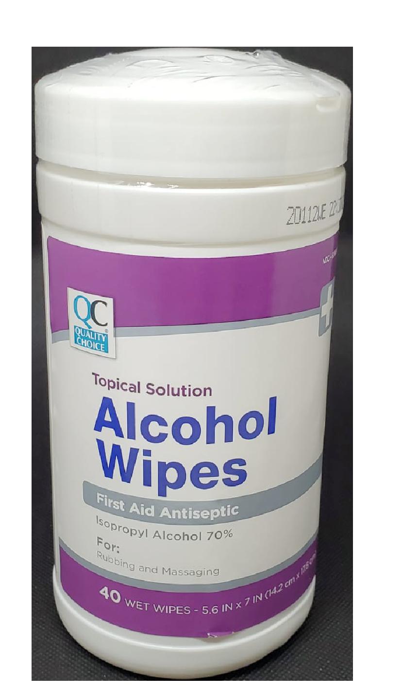 QC Alcohol Wipes