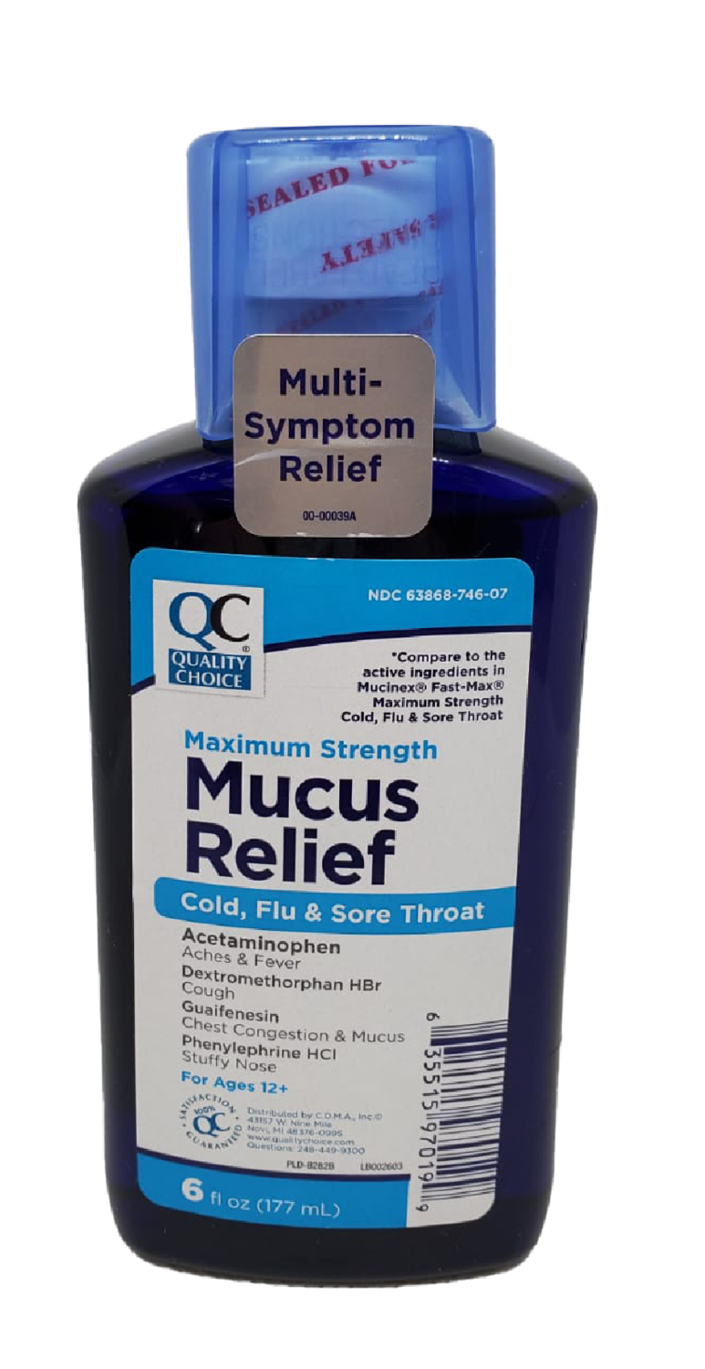 QC Mucus Relief Max Strength