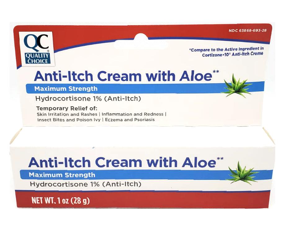 QC Anti-itch Cream with Aloe