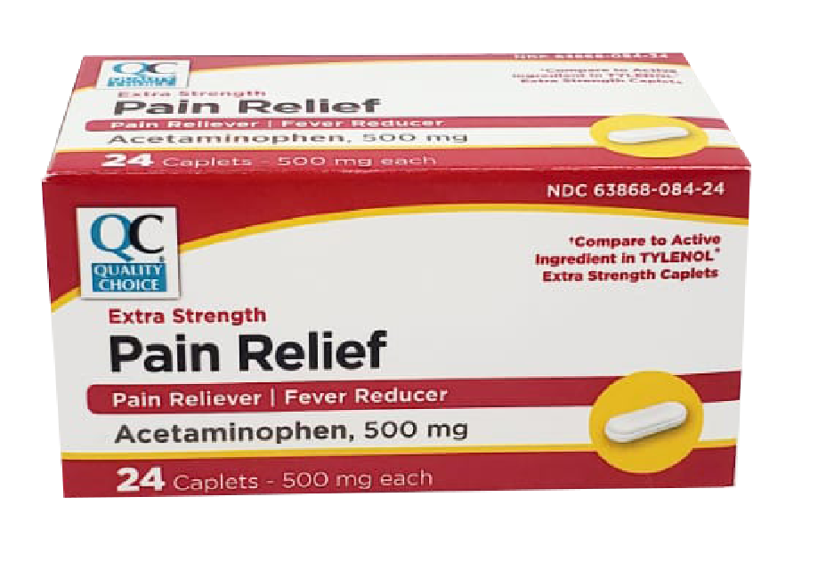 QC Pain Relief 500mg