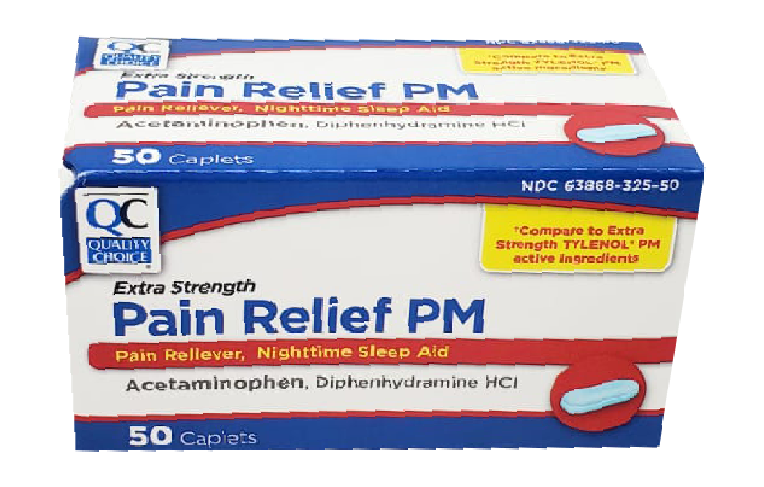 QC Pain Relief PM