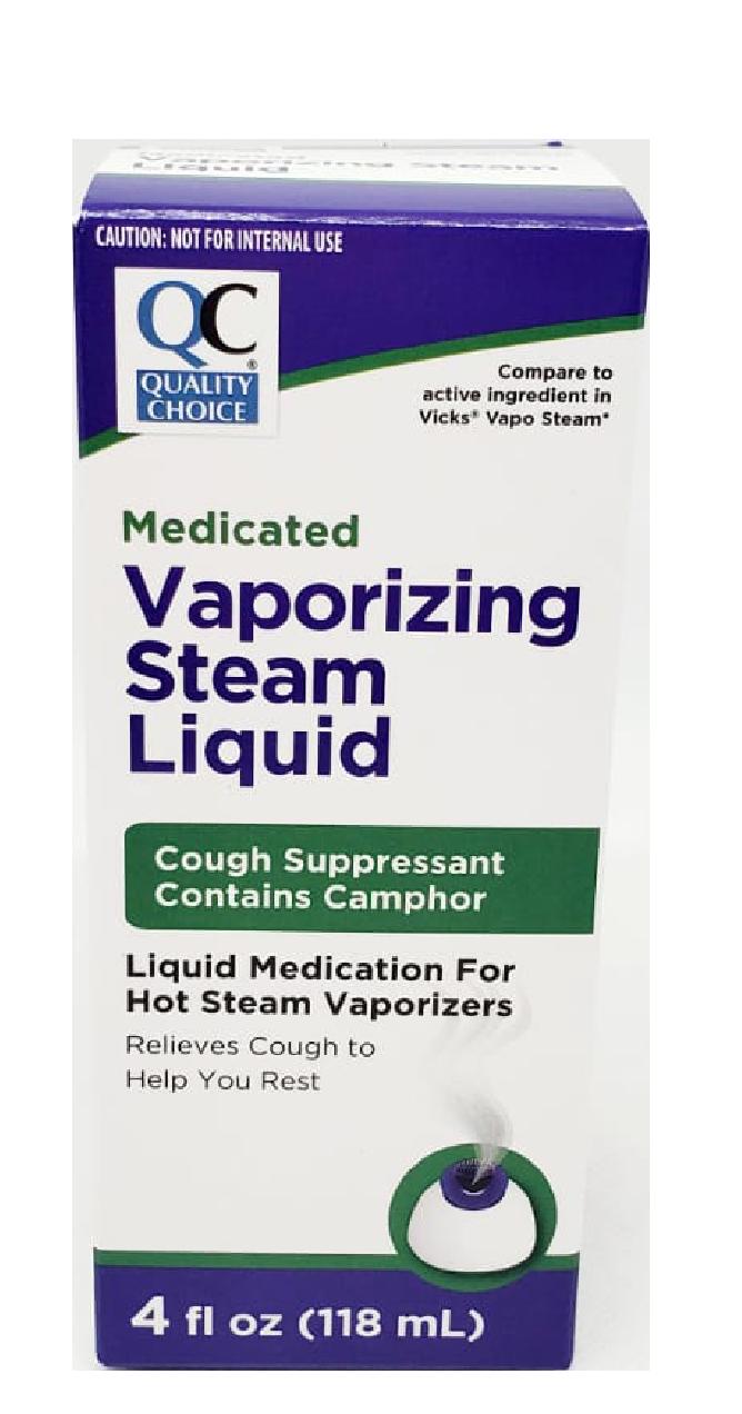 QC Vaporizing Steam Liquid