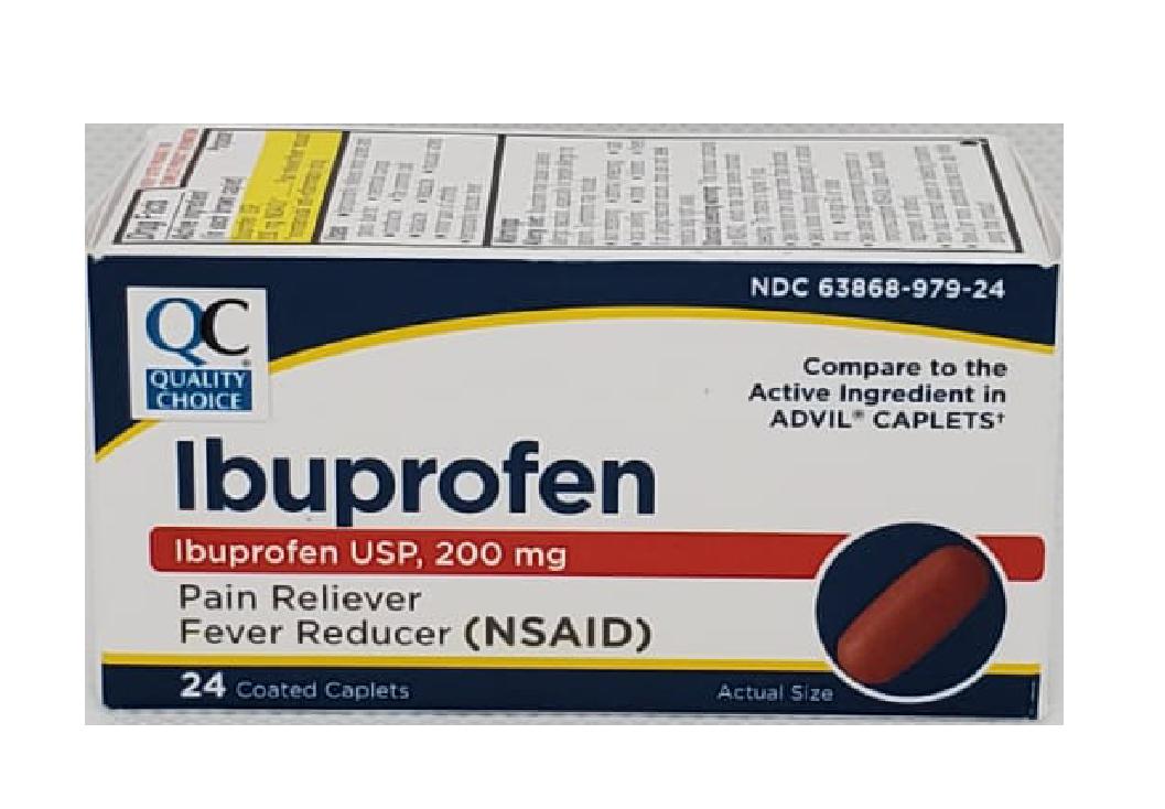 QC Ibuprofen 200mg