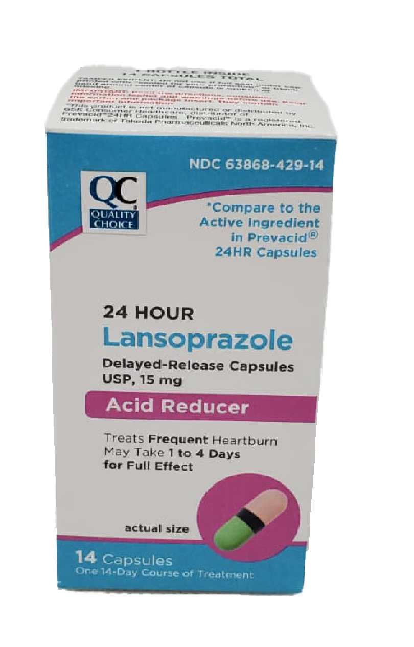 QC Lansoprazole 15mg