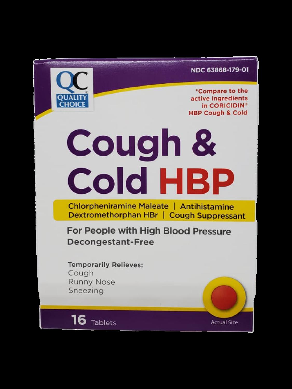 QC Cough & Cold HBP