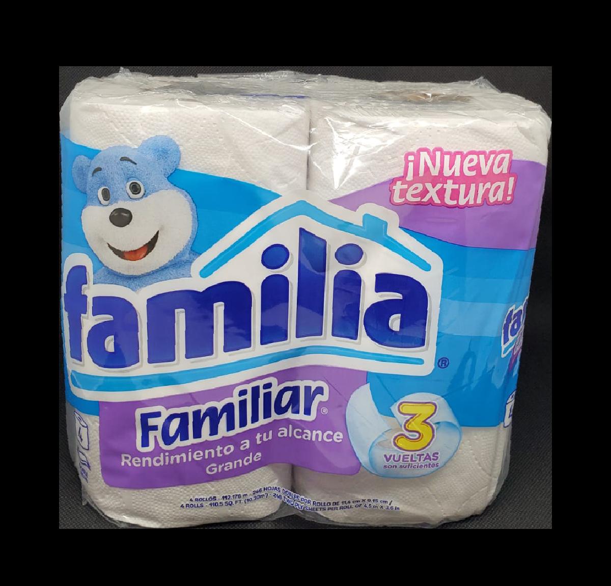 Papel Higiénico Familia Familiar