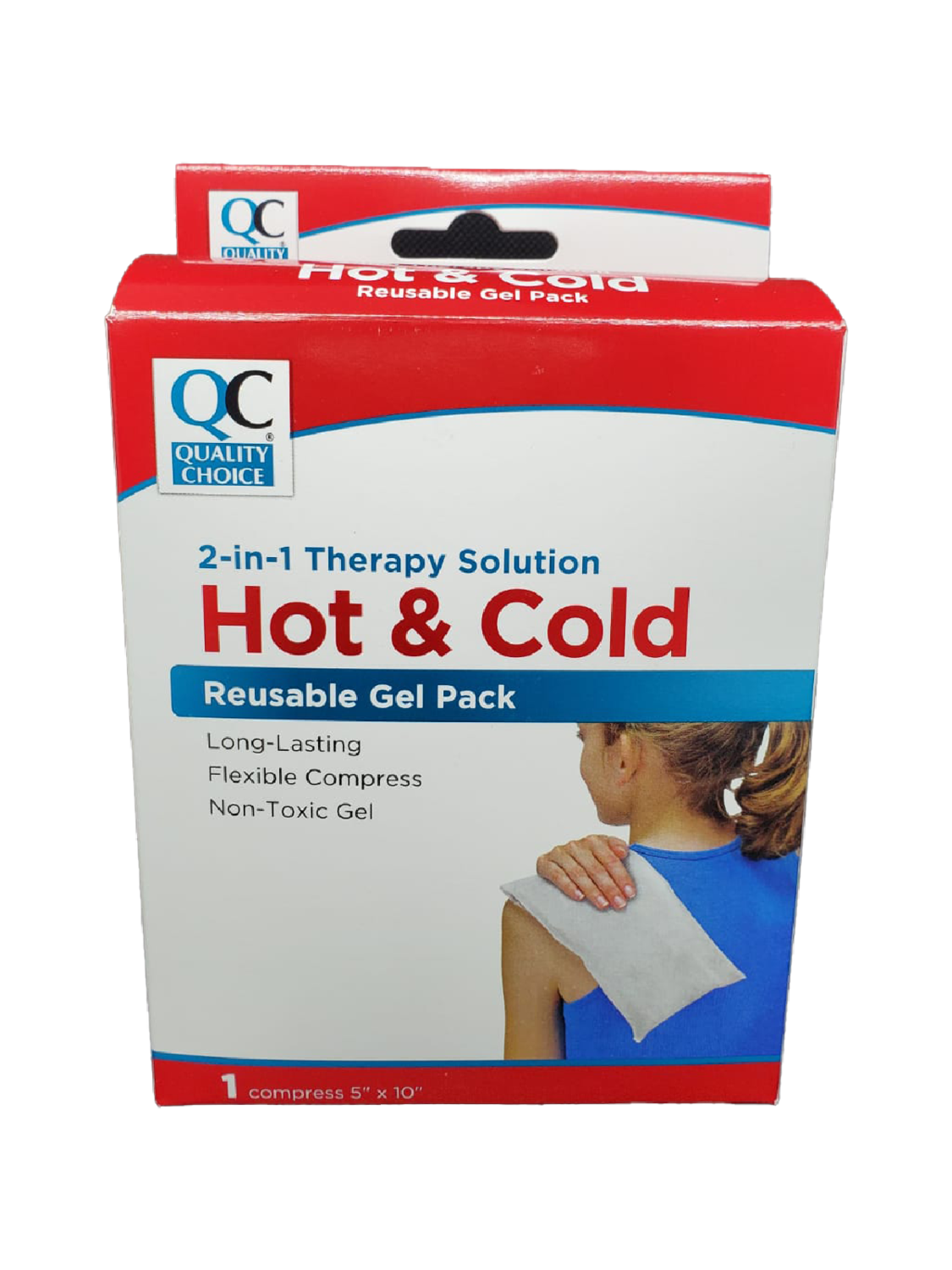 QC Hot & Cold Reusable Gel Pack