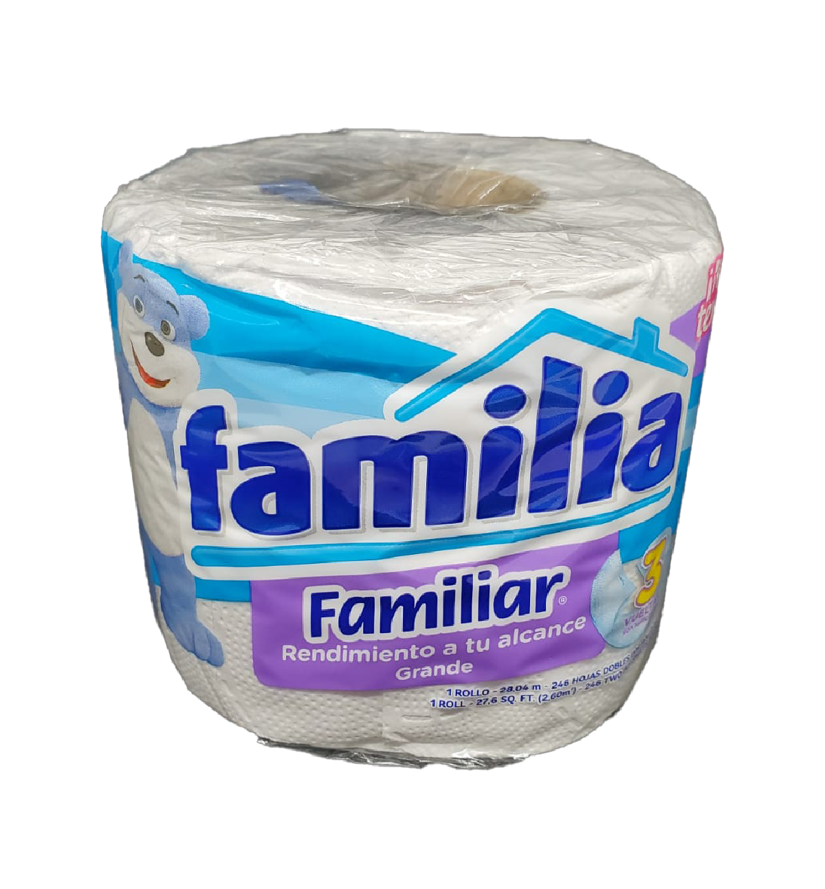 Papel Higiénico Familia 1 Rollo