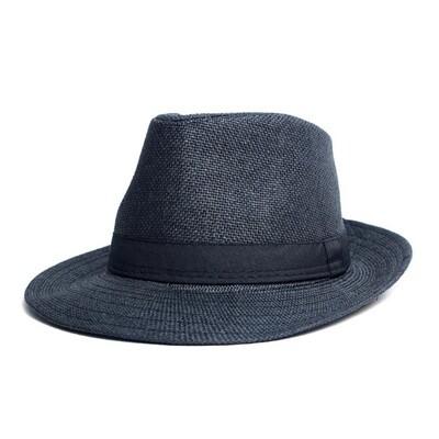 Sombrero Color Negro con Cinta Negra