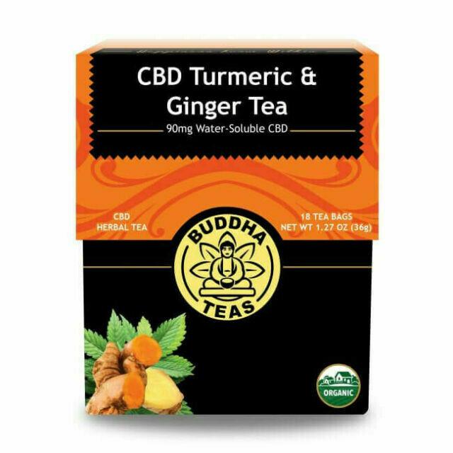 Tea CBD Turmeric y Jengibre Buddha