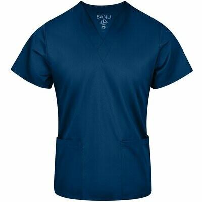 BANU Uniforms Scrub Set Pantalón y Blusa Cuello V