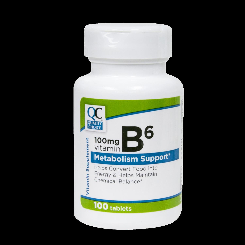 QC Vitamin B6 100mg