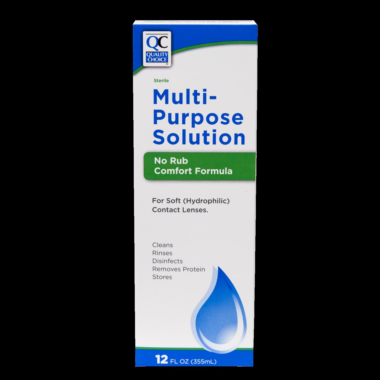 QC Multi Purpose Solution No rub