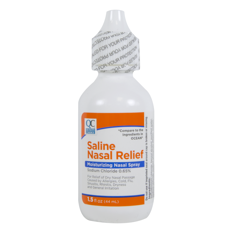 QC Saline Nasal Relief