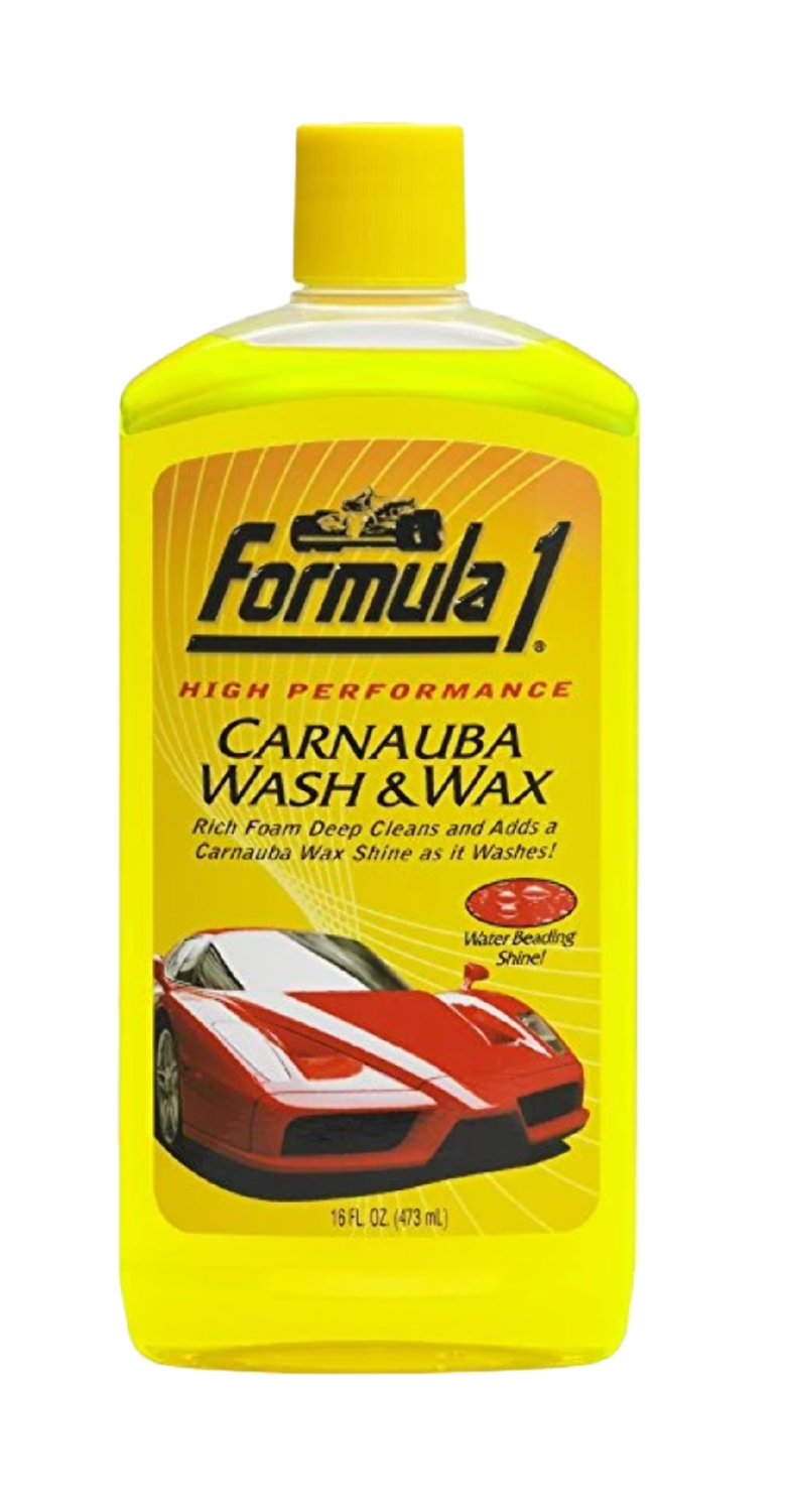 Formula 1 Car Wash & Wax