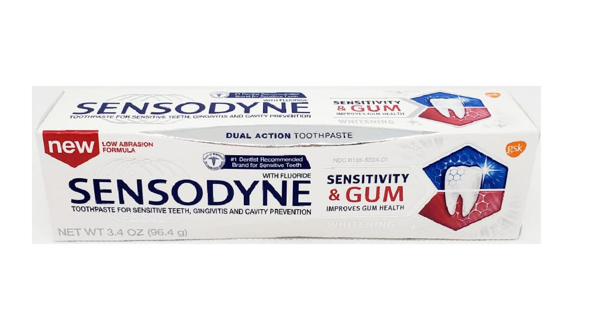 Sensodyne Whitening