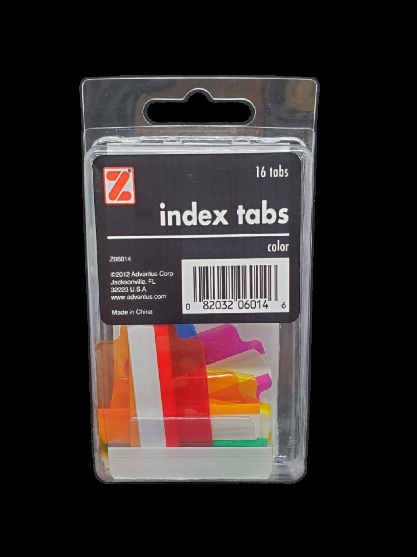 Index Tabs Color