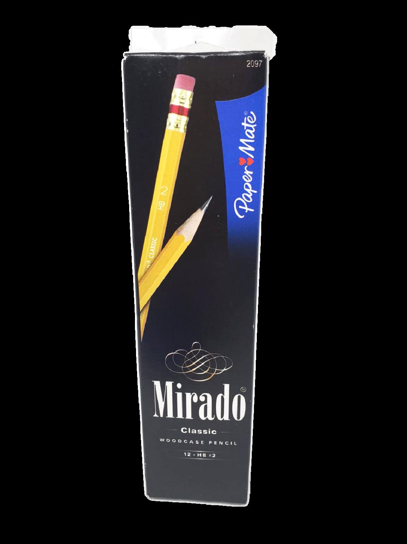 Lápices Madera Mirado
