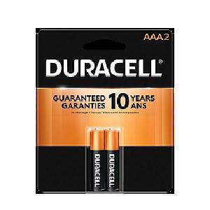 Baterias Duracell AAA