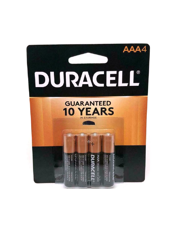 Baterías Duracell AAA de 4