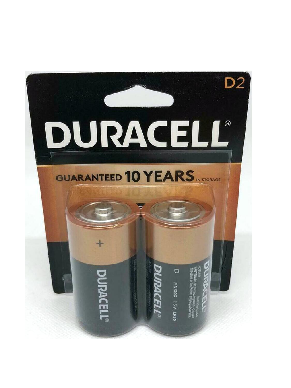 Baterías Duracell D