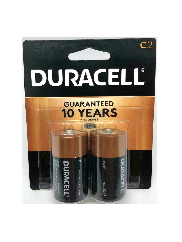 Baterías Duracell C