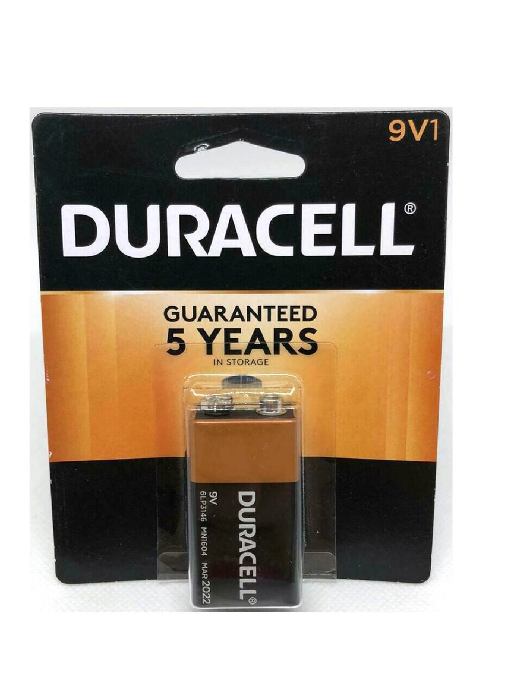 Baterías Duracell 9V