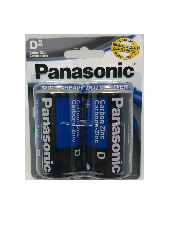 Baterías Panasonic D de 2